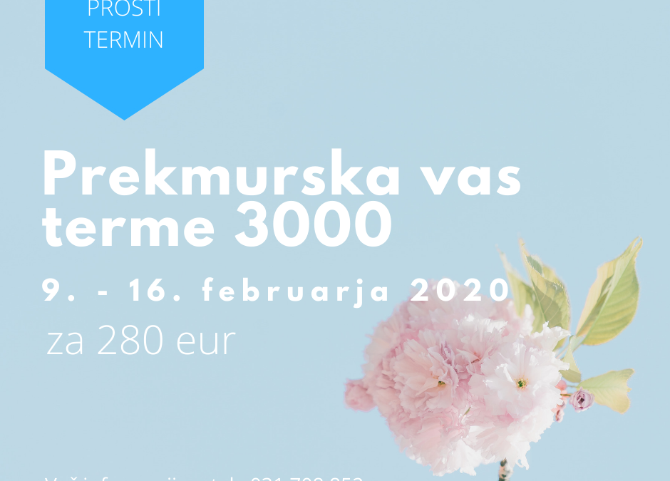 PROST TERMIN terme 3000 2020 1