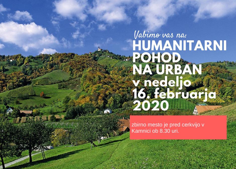 Humanitarni pohod na Urban